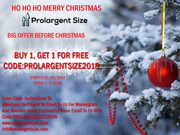 Prolargentsize Christmas-Do Not Miss This Great Offer!